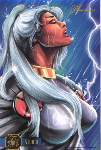 Ororo Munroe of Marvel's Uncanny X-Men.